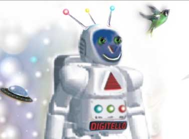 Digitelló gyermekrajz pályázat