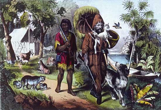 Robinson Crusoe (olvasónapló)