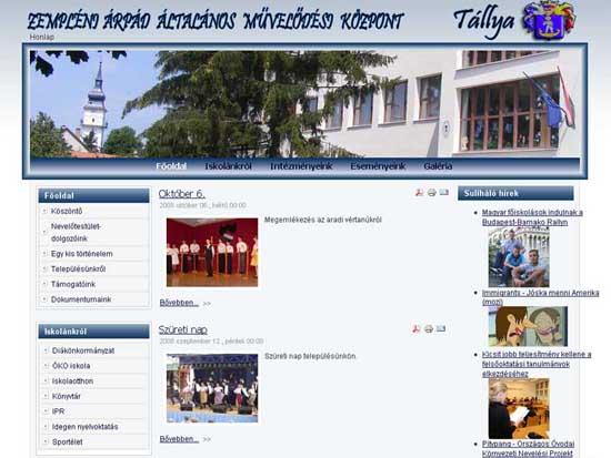 Klikkeljen ide a Zempléni Árpád Művelődési Központ honlapjának a megtekintéséhez!
