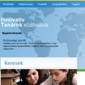 Elindult az innovatív tanárok közösségi portálja