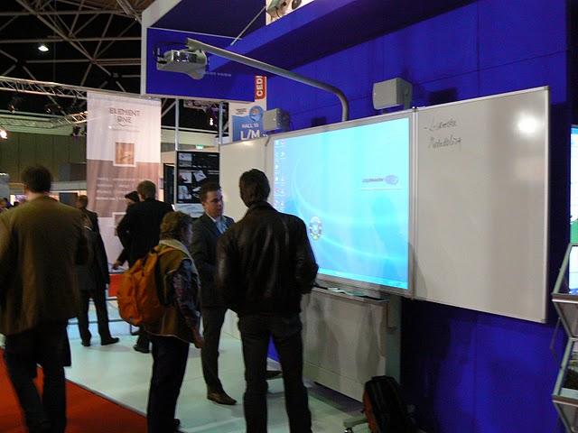 Az oktatás digitális távlatai az ISE 2010 vásáron, Amszterdamban