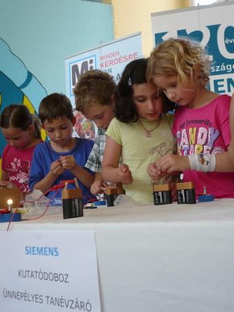 Siemens Kutatódoboz – Felfedező  lehetsz!