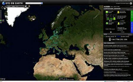 A felhőből figyelő szemek, avagy az Eye on Earth – a Microsoft környezetvédelmi programja