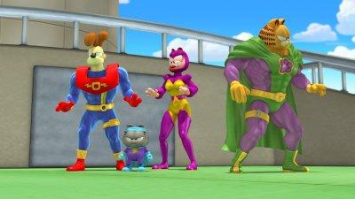 Garfield és a Zűr Kommandó 3D (mozi)