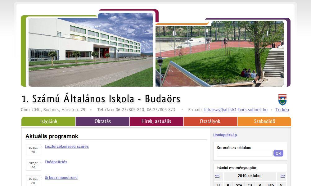 1. Sz. Általános Iskola Budaörs
