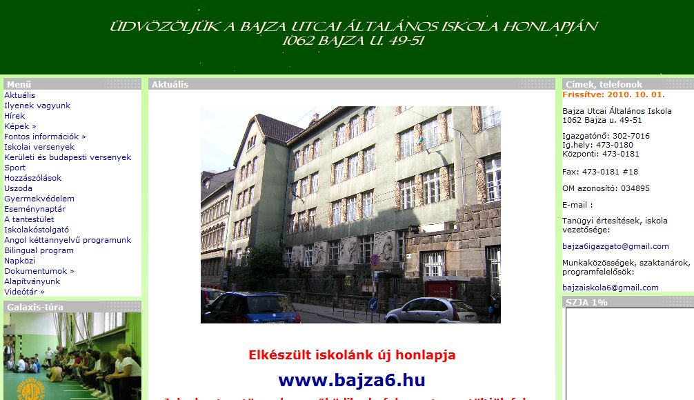 Bajza Utcai Általános Iskola Budapest