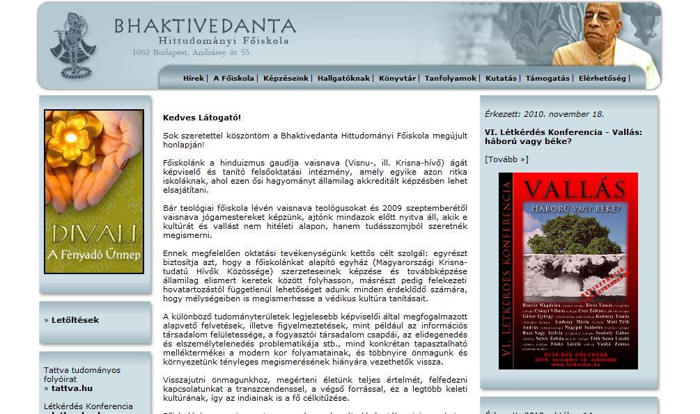 Bhaktivedanta Hittudományi Főiskola Budapest