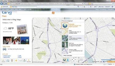 A világ felfedezése Bing térképpel – interaktív földrajzórák a Bing Maps segítségével