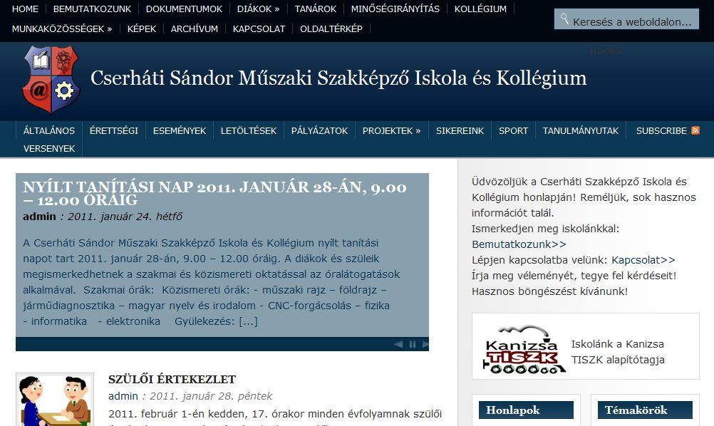 Cserhati Sándor Műszaki Szakképző Iskola Nagykanizsa