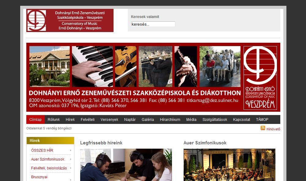 Dohnányi Ernő Zeneművészeti Szakközépiskola és Diákotthon Veszprém