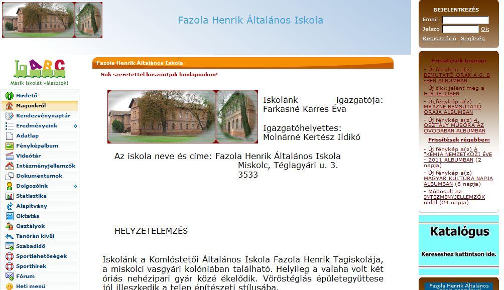Cholnoky Jenő Általános Iskola Veszprém