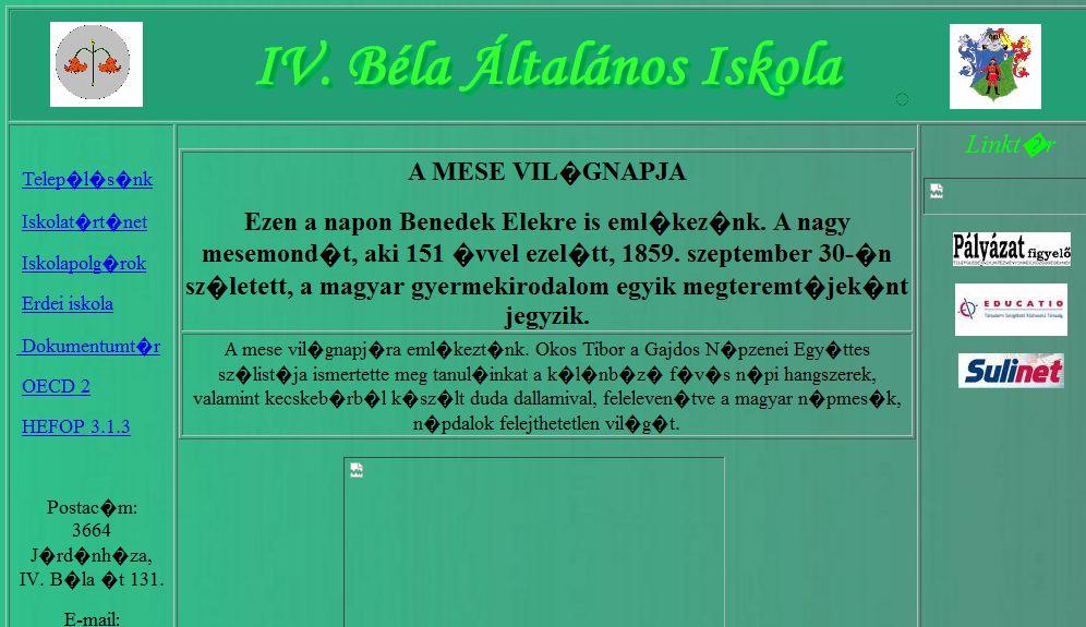 Iv. Béla Általános Iskola Járdánháza