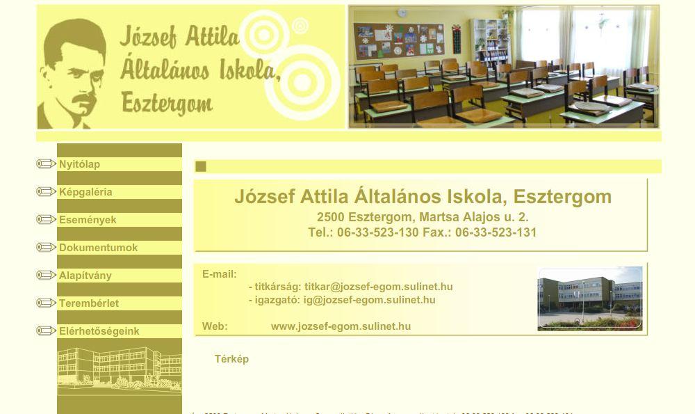 József Attila Általános Iskola Esztergom