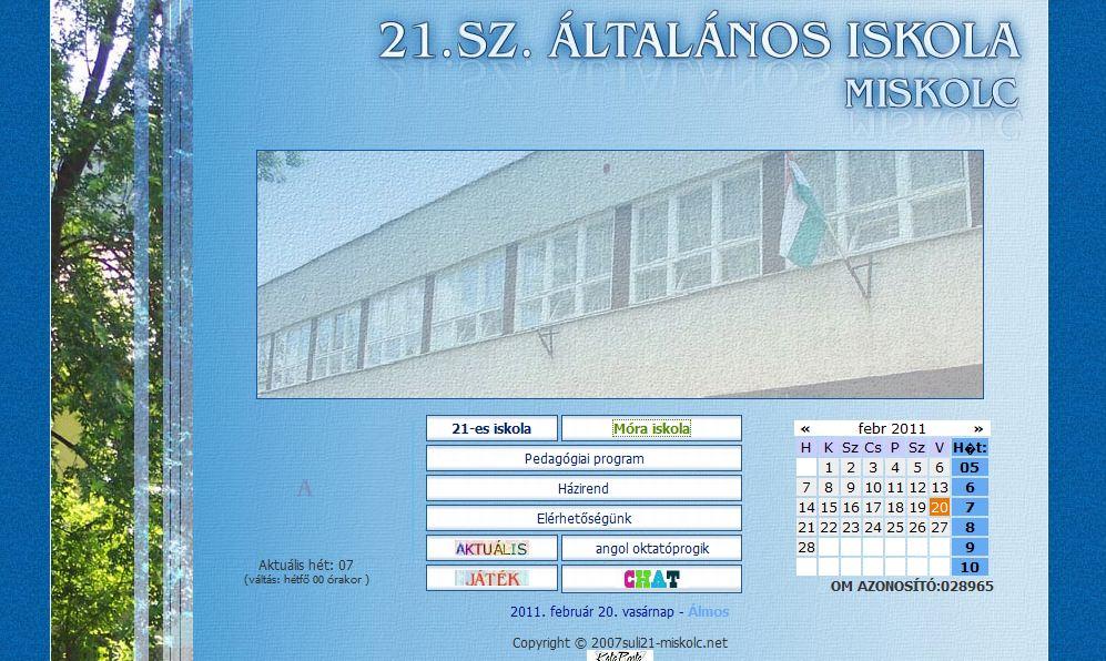 Móra Ferenc Általános Iskola Miskolc