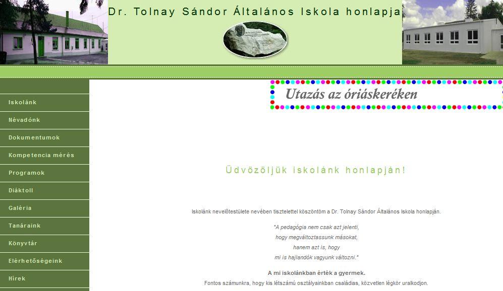Dr. Tolnay Sándor Általános Iskola Gyöngyösfalu