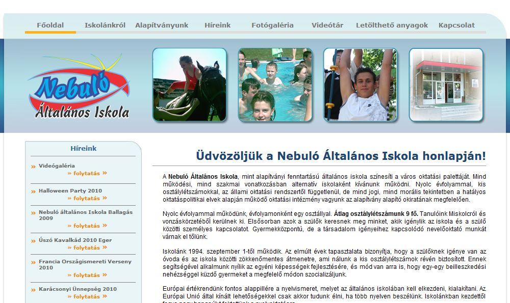 Nebulo Általános Iskola Miskolc