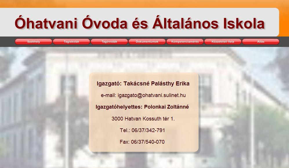 Óhatvani Óvoda és Általános Iskola