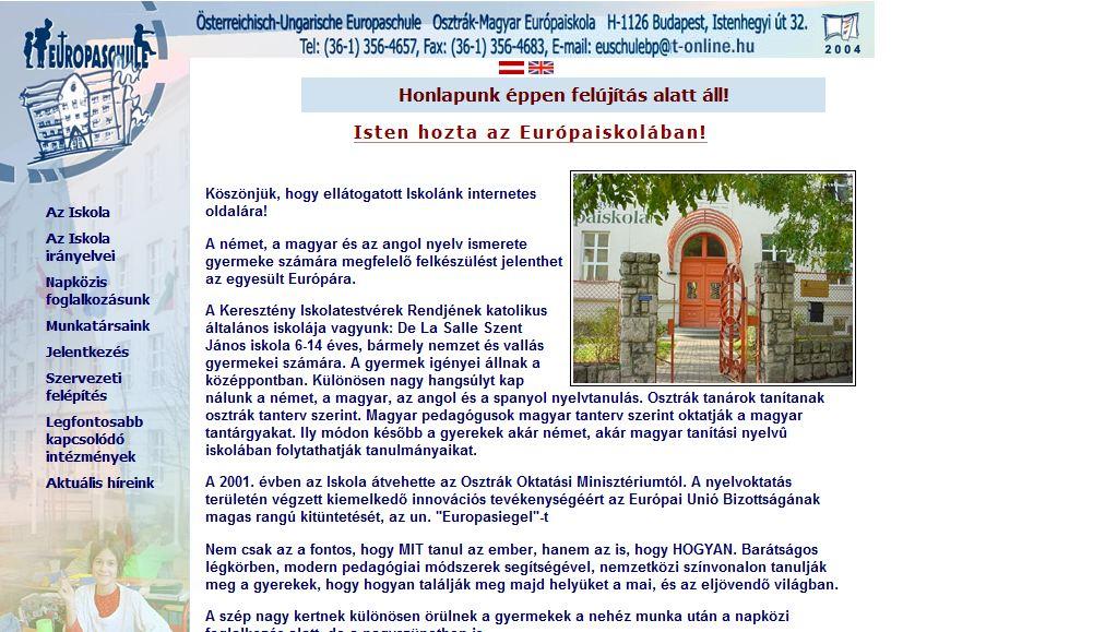 Osztrák Magyar Europaiskola Budapest