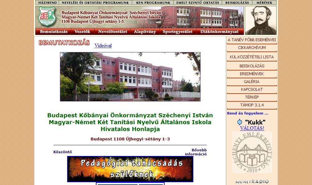 Széchenyi István Általános Iskola Budapest