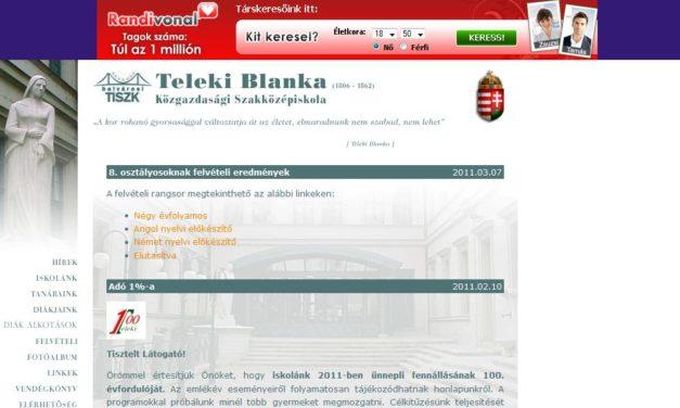 Teleki Blanka Közgazdasági Szakközépiskola Budapest