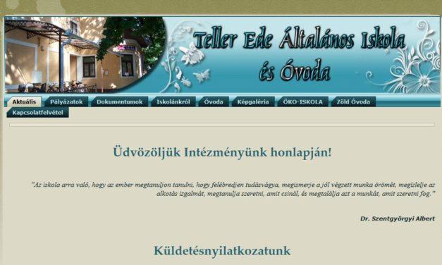 Teller Ede Általános Iskola és Óvoda Nagybánhegyes