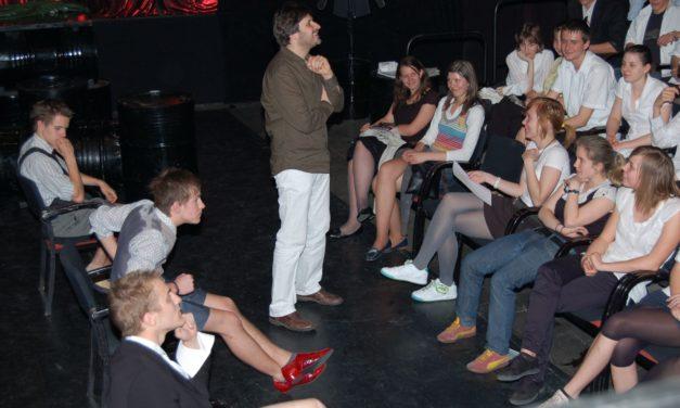 Beavató drámafoglalkozás a Bárka Színházban