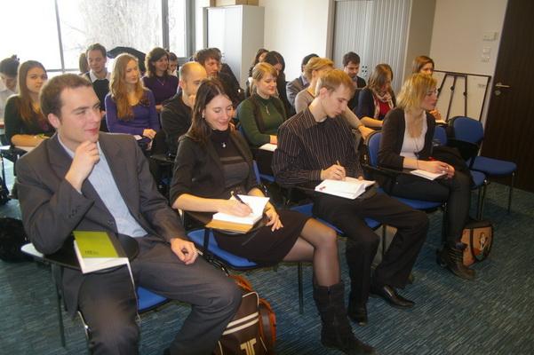 Bevetésen a Fiatal Európa Szerkesztőség