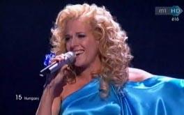 Wolf Kati  a 2011-es Eurovíziós Dalfesztivál döntőjében!