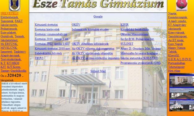 Esze Tamás Gimnzázium Mátészalka
