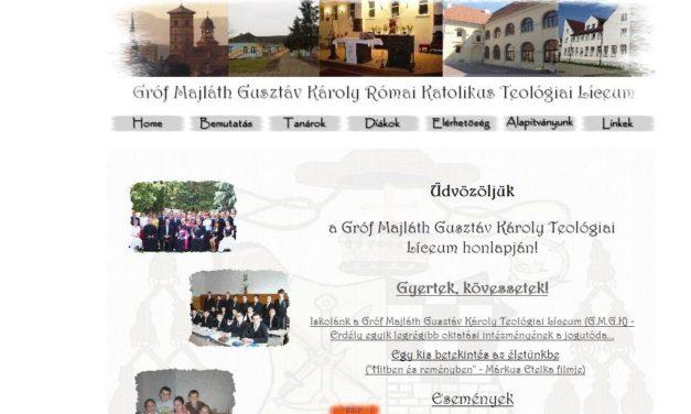 Gróf Majláth Gusztáv Károly Római Katólikus Teológiai Líceum Gyulafehérvár