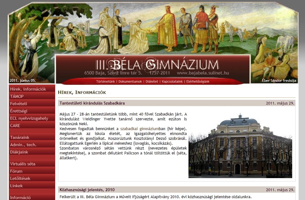 III. Béla Gimnázium Baja