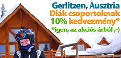 Diáksítáborok Gerlitzen/Ausztria