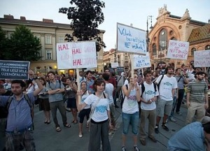 Országos diáktüntetést tervez hétfőre a HaHa