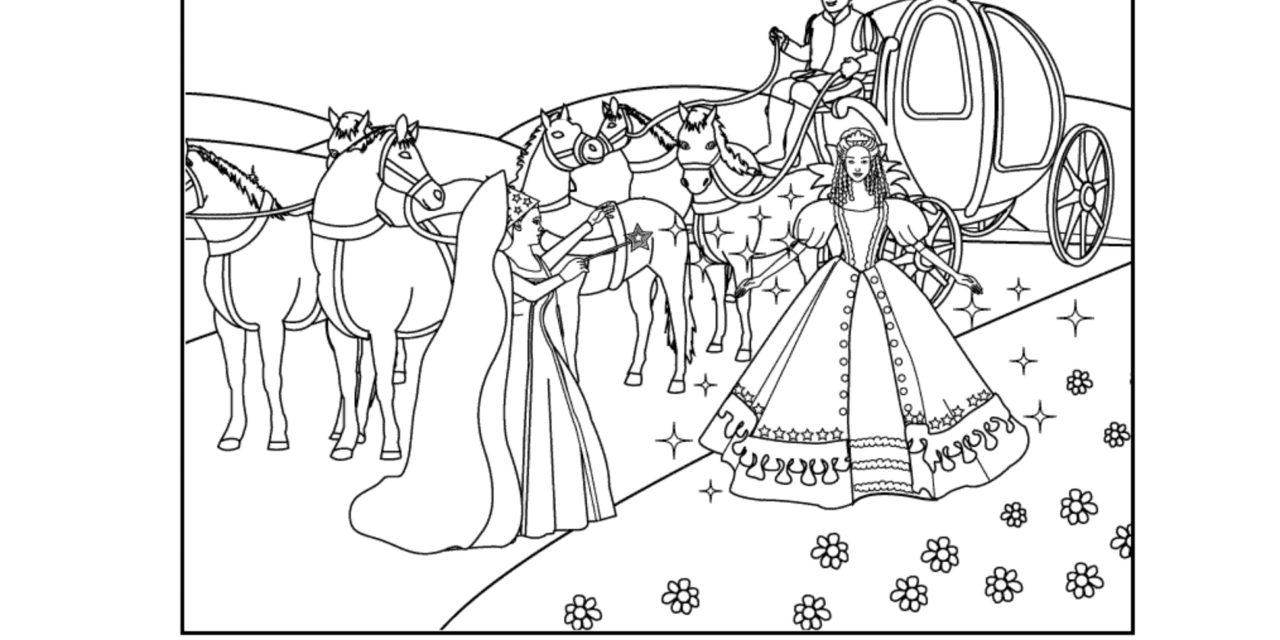 Hercegnős kifestők és színezők