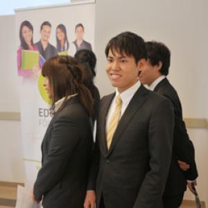 Japán és magyar diákok tartottak fórumot az Edutus Főiskolán