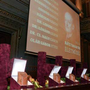 13. alkalommal adták át a Rátz Tanár Úr Életműdíjakat