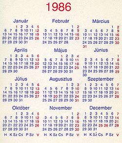 Ne vegyél idén új naptárat!