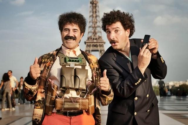 Franciadrazsék, avagy francia Borat robbantani Eiffel-torony! (mozi)
