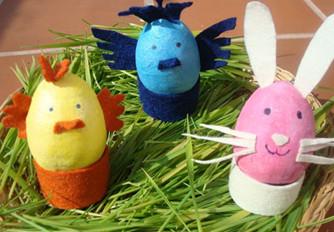 Húsvéti tojás állatkák