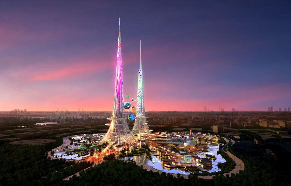 Zöld felhőkarcolók Kínában és Szaúd-Arábiában