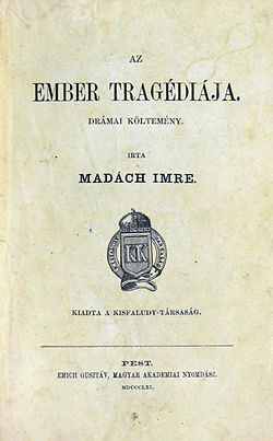 Madách Imre: Az ember tragédiája – olvasónapló