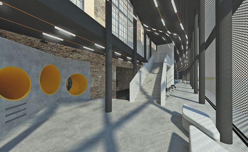 Lezárult az építkezés, jövőre megnyitja kapuit a nagyközönség előtt a Digitális Erőmű Ózdon