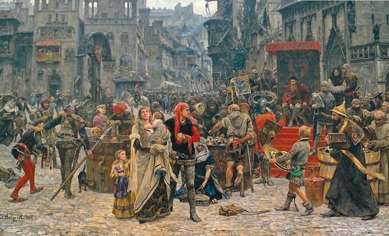 Az egyház szerepe a középkorban – Történelem érettségi felkészítő videó