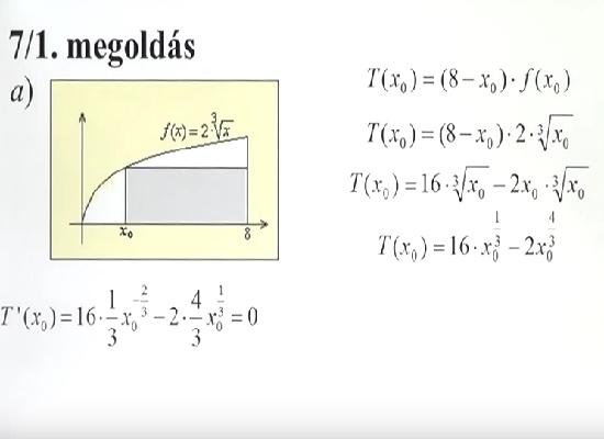 7. feladatsor – Emelt szintű matematika érettségi felkészítő videó