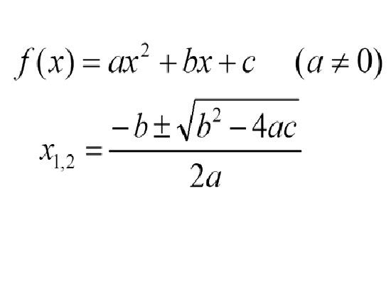 Másodfokú egyenletek – Matematika érettségi felkészítő
