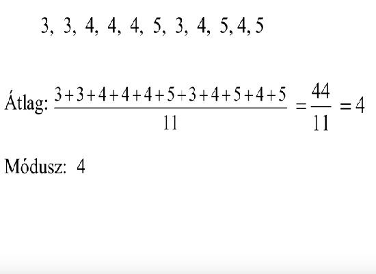 Statisztika, valószínűség-számítás – Matematika érettségi felkészítő videó