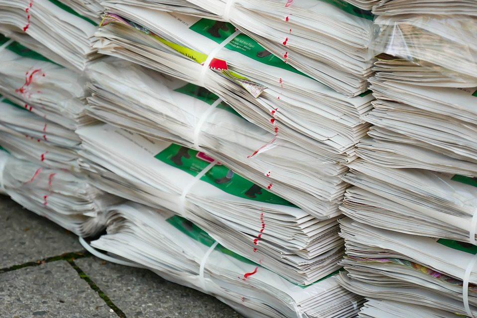 Ön tudta, hogy egy évben 100 kilogramm papírt használ fel?