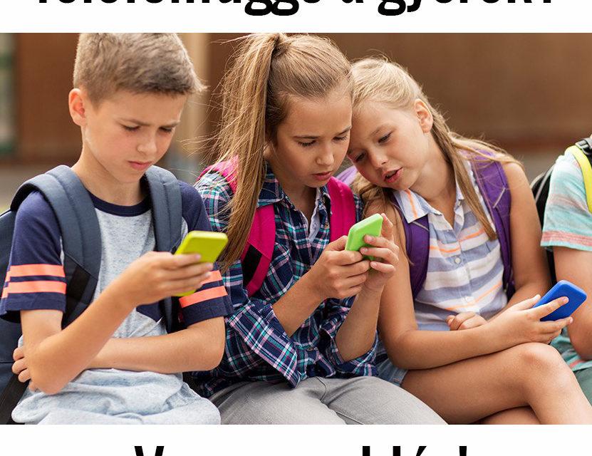 Hogyan korlátozzuk a gyerekek kütyü-használatát? – VAN MEGOLDÁS