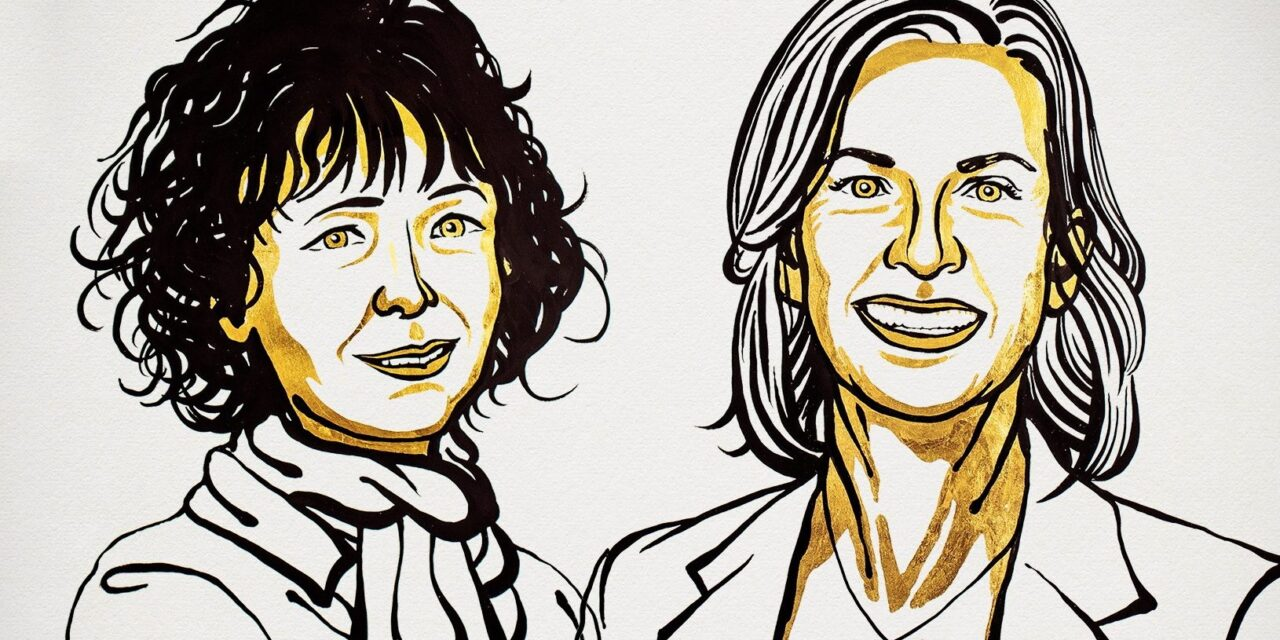Genetikai ollóért adják idén a kémiai Nobel-díjat