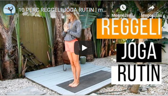10 PERC REGGELI JÓGA RUTIN | mobilitás + energia + jókedv
